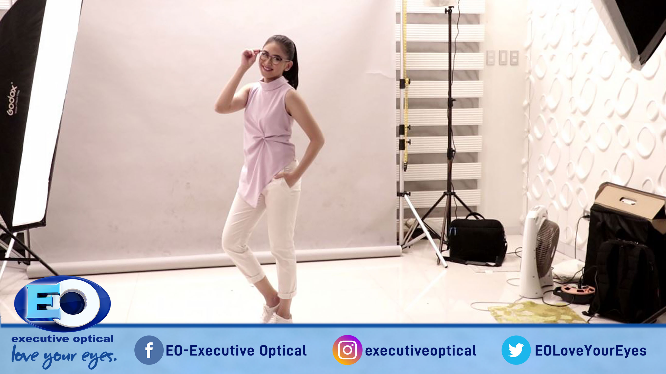 The Big Reveal: Sarah Geronimo is the Newest Member of the EO-Executive Optical Family