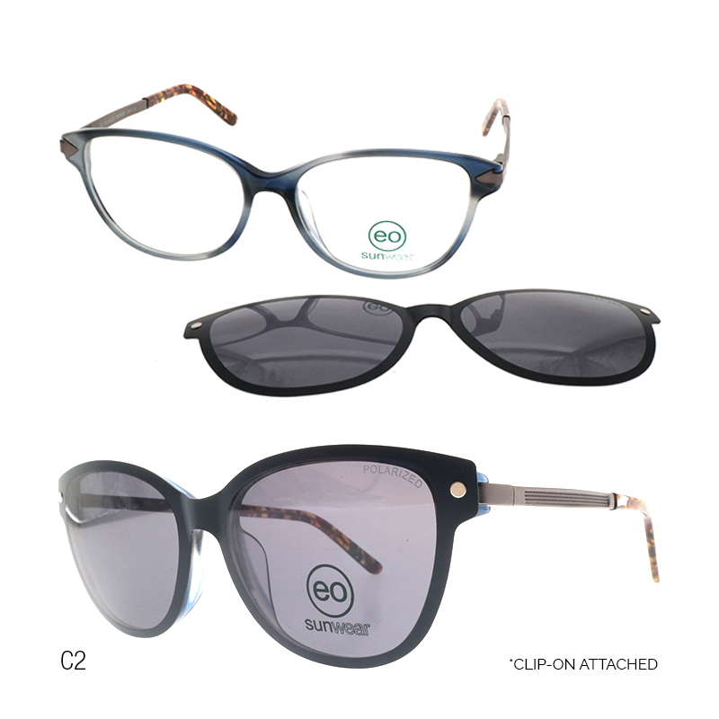 EO Maya Melissa sunglasses with free 1.56 MC lens for sale in the Philippines black