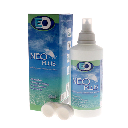Neo Plus Multi-purpose Contact Lens Solution 360ml for sale online