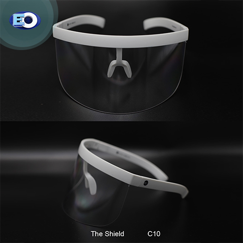 EO The Shield Protective Glasses with ANTI-FOG (Clear Lens C10) for sale online face shield
