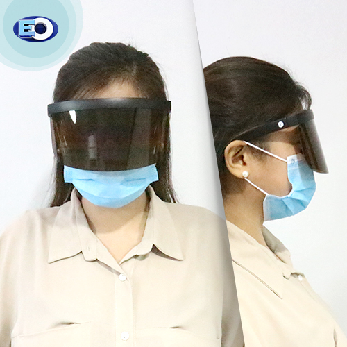 EO The Shield Protective Glasses with ANTI-FOG (Brown Lens C9) for girl online sale face shield