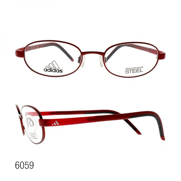 EO KIDS FRAME W/ SCREEN PROTECTION - Adidas A998 + Blue Filter Lens UV 420 Red