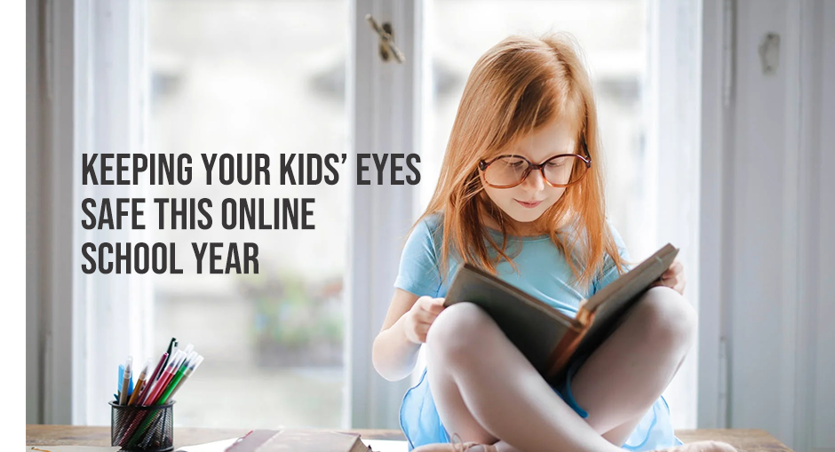 Keeping your Kids' Eyes Safe this Online School Year